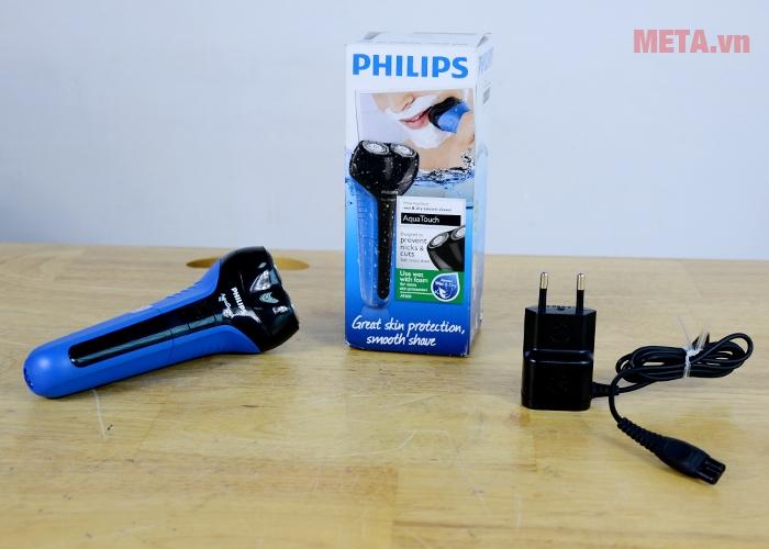 Trọn bộ sản phẩm máy cạo râu Philips AT600