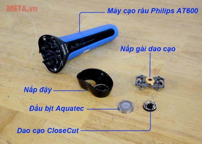 Chi tiết từng bộ phận của máy cạo râu