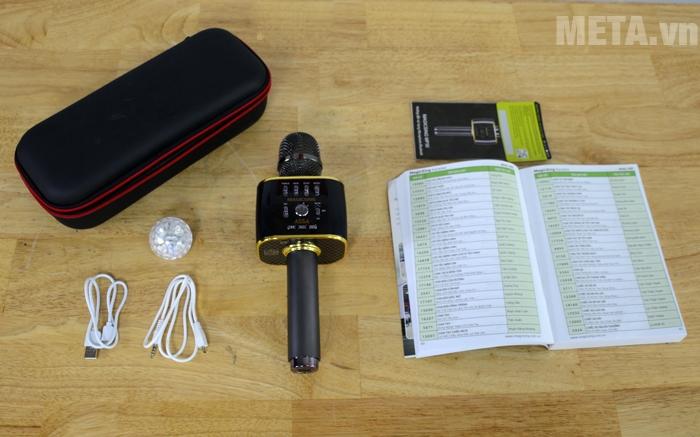 Trọn bộ sản phẩm micro Magic Sing MP-30