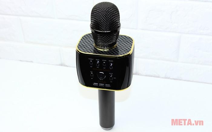 Micro karaoke Magic Sing MP-30 được tích hợp nhiều chức năng