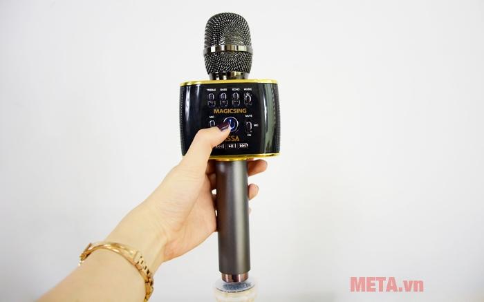 Micro Magic Sing MP-30 giúp bạn thỏa sức karaoke