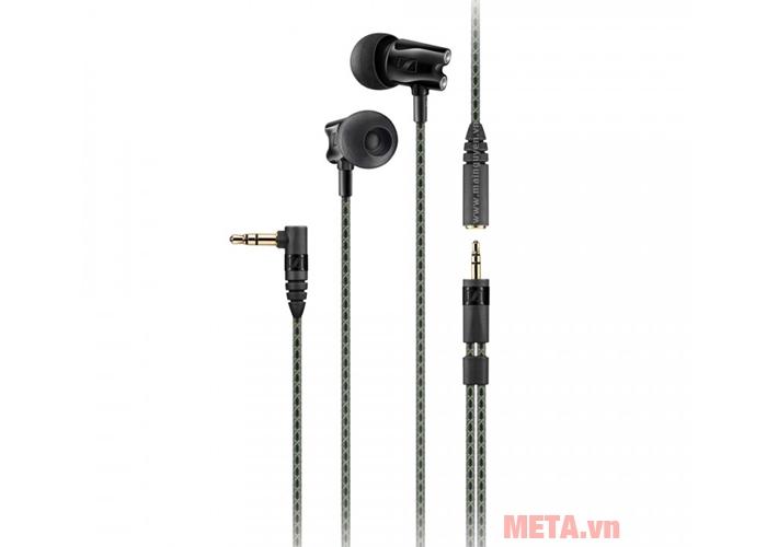 Jack kết nối của tai nghe Sennheiser IE 800