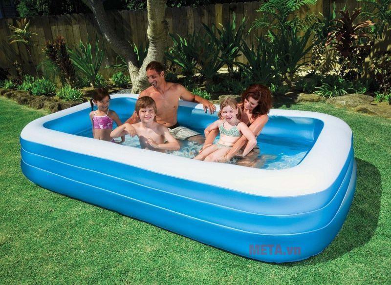 """Hướng dẫn sử dụng bể bơi phao và cách bảo quản đúng """"chuẩn"""""""