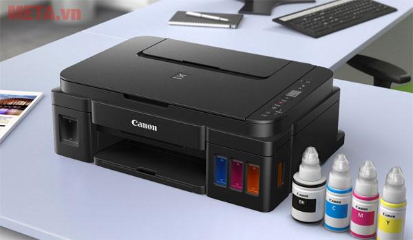 Máy in phun màu đa năng Canon