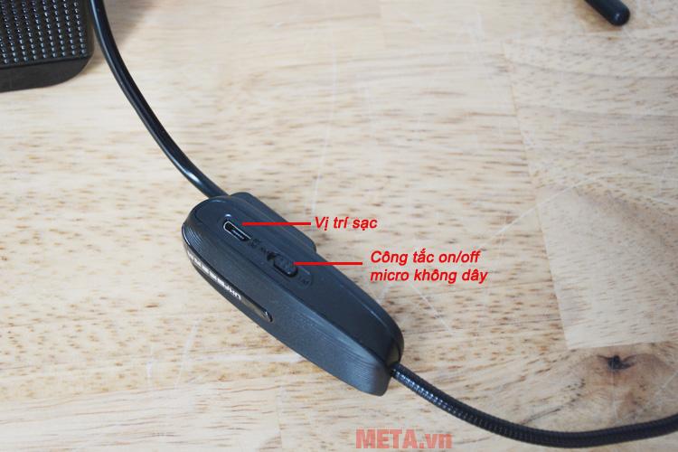 Micro có chất lượng âm thanh tuyệt vời