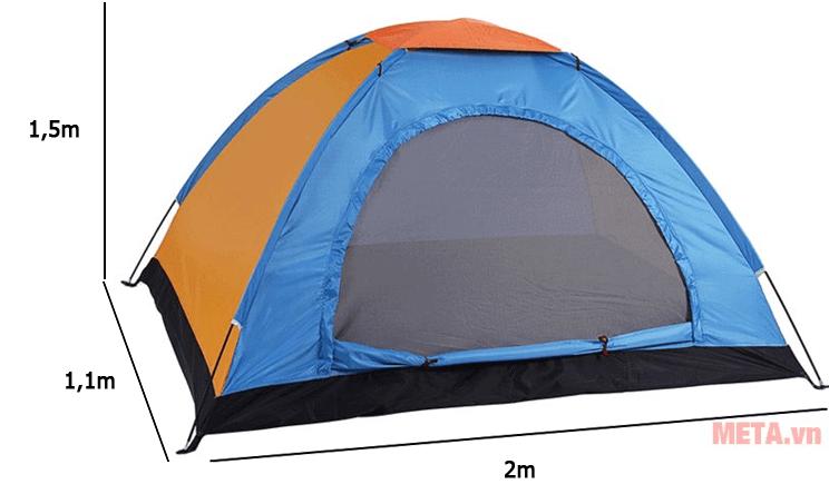 Lều du lịch 1 lớp