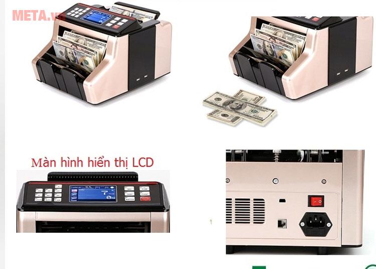 Máy đếm tiền có thiết kế hiện đại