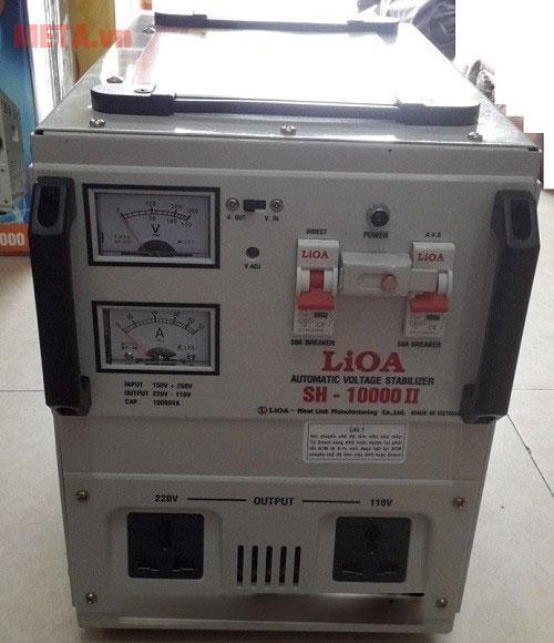 Ổn áp 1 pha Lioa 10KVA SH 10000