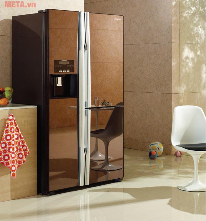 Tủ lạnh Side by Side có thiết kế độc đáo, sang trọng