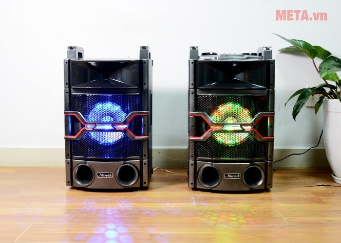 Hình ảnh loa Microtek MTK-04 có thiết kế vẻ ngoài mạnh mẽ