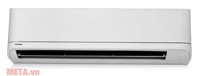Máy lạnh Toshiba RAS-H24U2KSG-V (2.5HP) có màu trắng trang nhã.