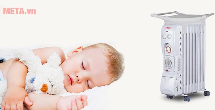 Máy sưởi dùng cho trẻ sơ sinh
