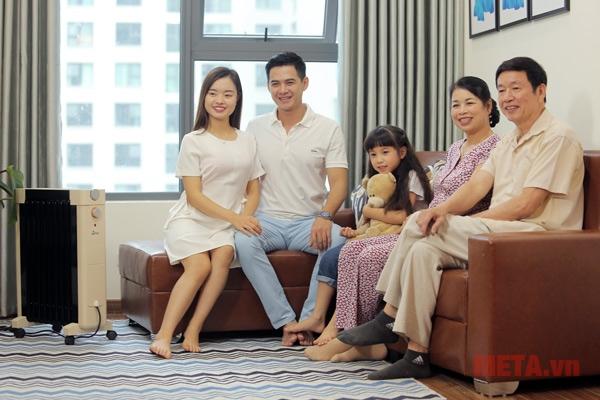 FujiE OFR6509 phù hợp với mọi thành viên trong gia đình