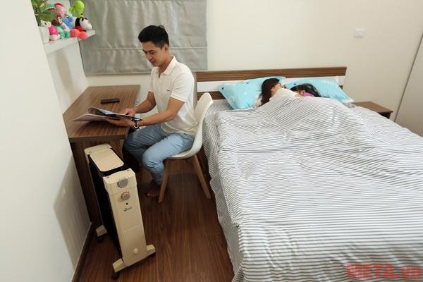 FujiE OFR6509 sử dụng trong phòng ngủ