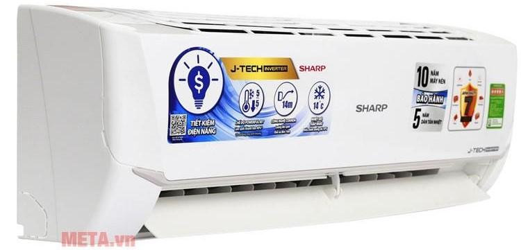 Điều hòa Sharp Inverter 2 HP 18000 BTU AH-X18VEW (Hẹn giờ bật/tắt)