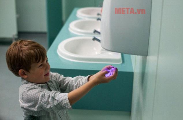 Diện tích máy sấy tay