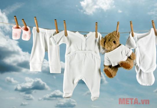 Sử dụng loại bột giặt thích hợp
