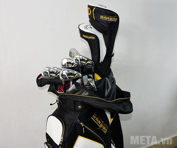 Túi golf cart bags đựng được 10 cây gậy