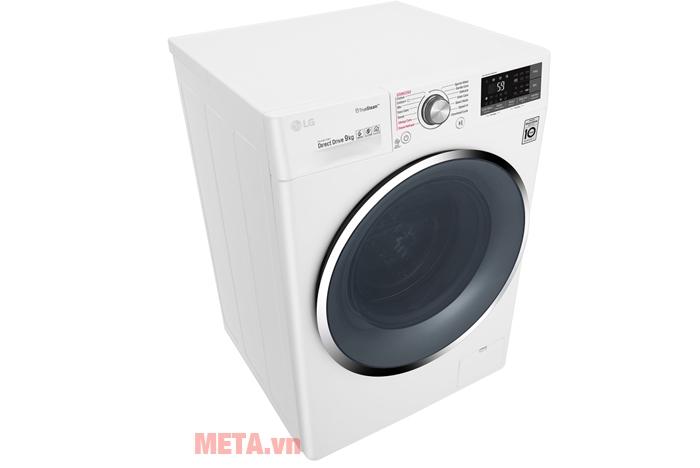 Máy giặt LG 9kg FC1409S2W có cửa trước tiện dụng