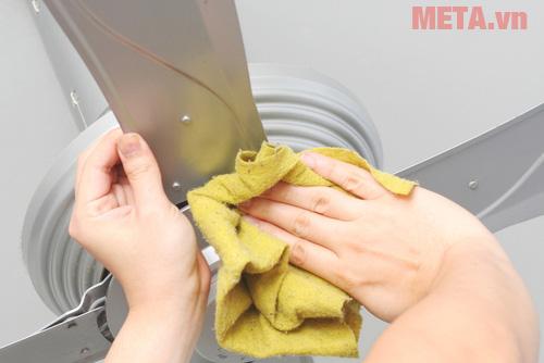 Cách vệ sinh quạt trần đơn giản nhất