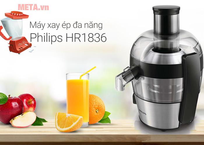 máy ép hoa quả công suất lớn Philips