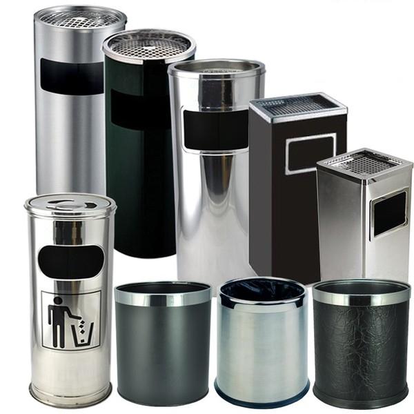 Tại sao thùng rác inox có gạt tàn được ưa chuộng?