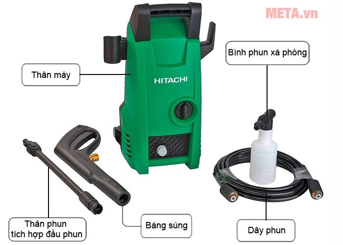 Phụ kiện máy phun xịt áp lực Hitachi AW100