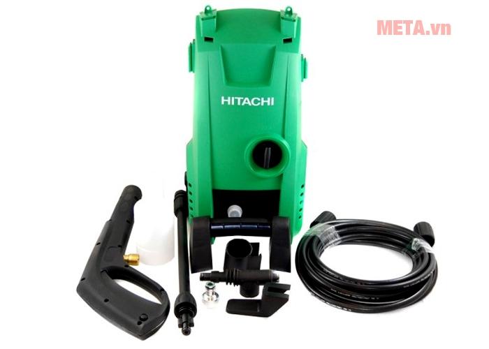 Trọn bộ sản phẩm máy rửa xe Hitachi AW100