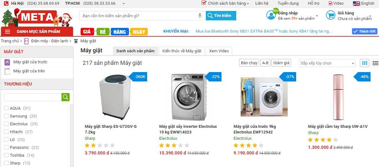 máy giặt khô