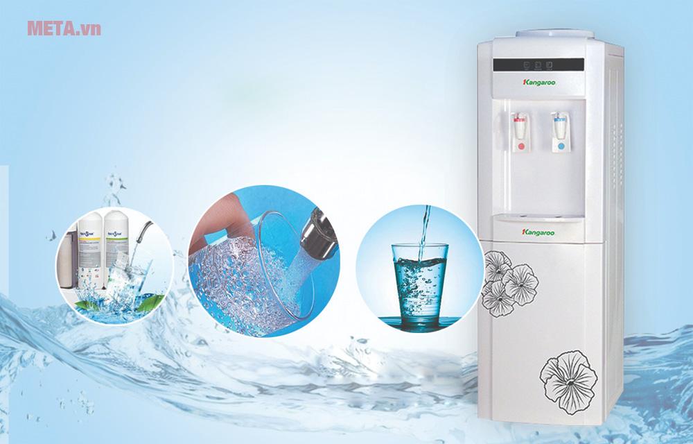 Cách vệ sinh cây nước nóng lạnh an toàn, hiệu quả