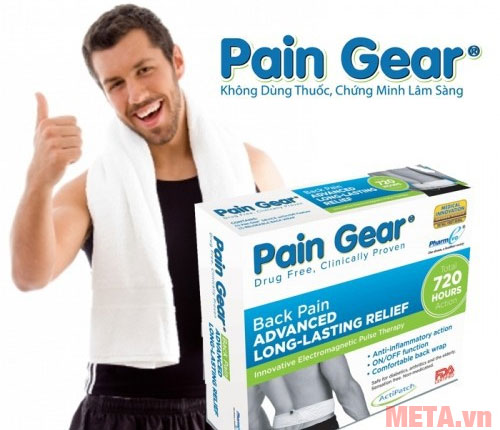 Bạn có thể sử dụng Pain Gear trên nhiều vùng cơ thể