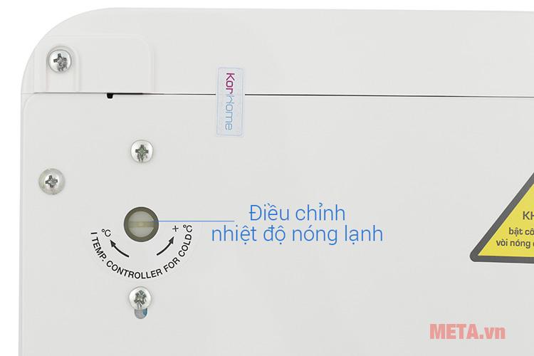 Nút chỉnh nhiệt độ nóng lạnh của máy lọc nước