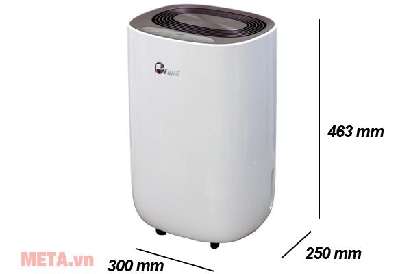 Kích thước máy hút ẩm dân dụng FujiE HM-912EC-N