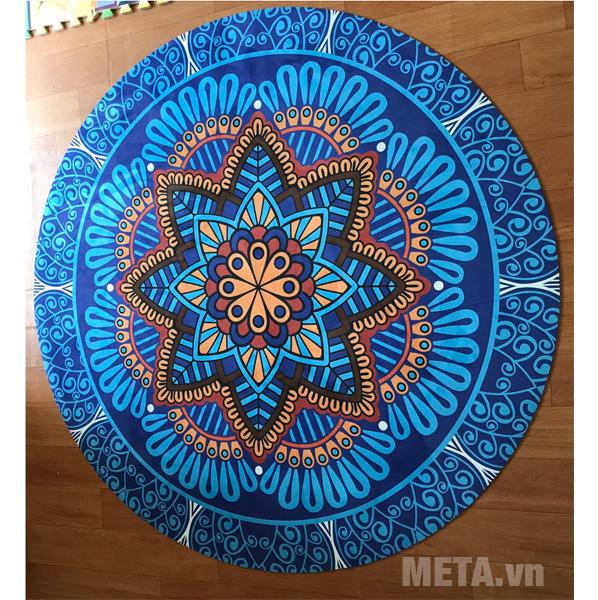 Thảm Yoga tròn