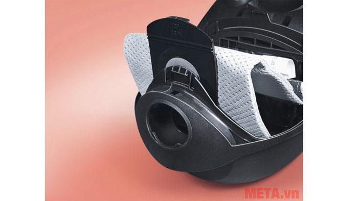 Túi bụi dễ dàng vệ sinh sau khi sử dụng