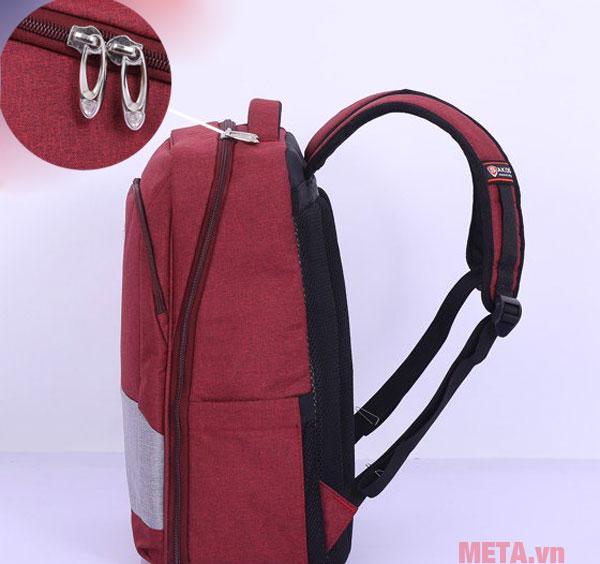 Balo Sakos Omega i15 màu đỏ