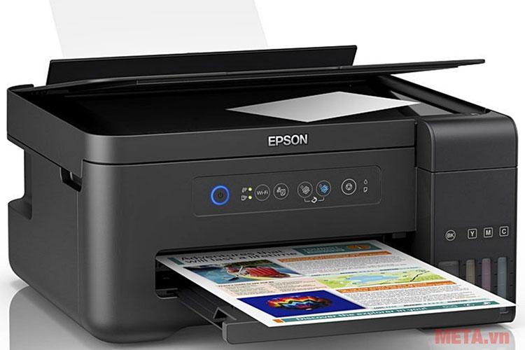 Hình ảnh máy in phun màu Epson L4150
