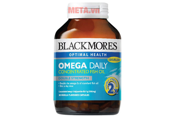 Hộp viên dầu cá Blackmores Omega Daily Concentrated Fish Oil