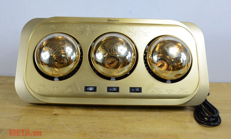 Đèn sưởi nhà tắm Moletty M-03H