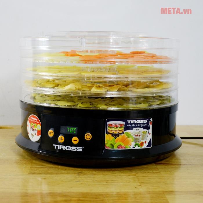 Hình ảnh máy sấy hoa quả, thực phẩm đa năng Tiross TS9682