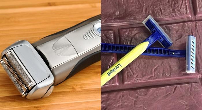 máy cạo râu hay dao cạo râu