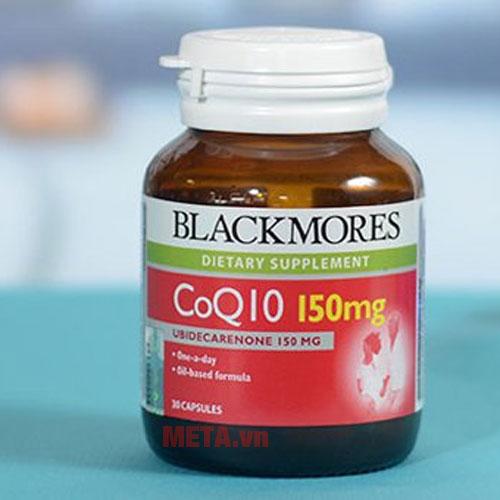 Blackmores COQ10 150mg tác dụng hiệu quả với hệ tim mạch