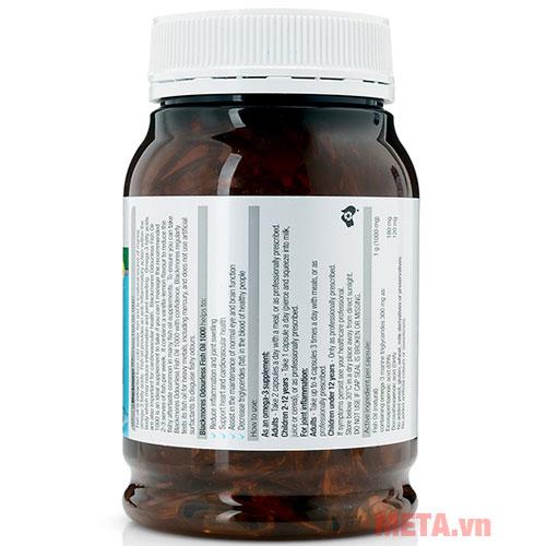 Các thành phần của thuốc được in trên bao bì