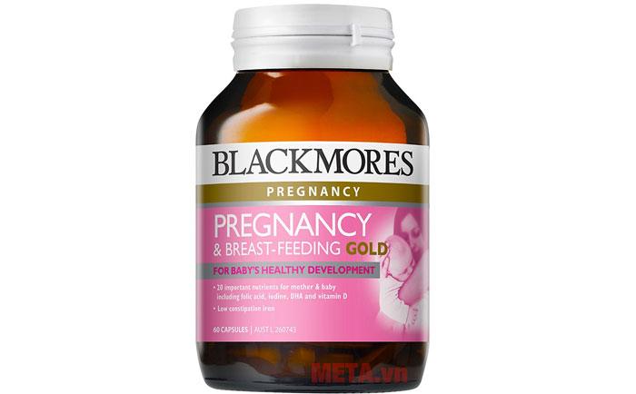 Blackmores Pregnancy and Breast Feeding Gold phù hợp với phụ nữ có thai