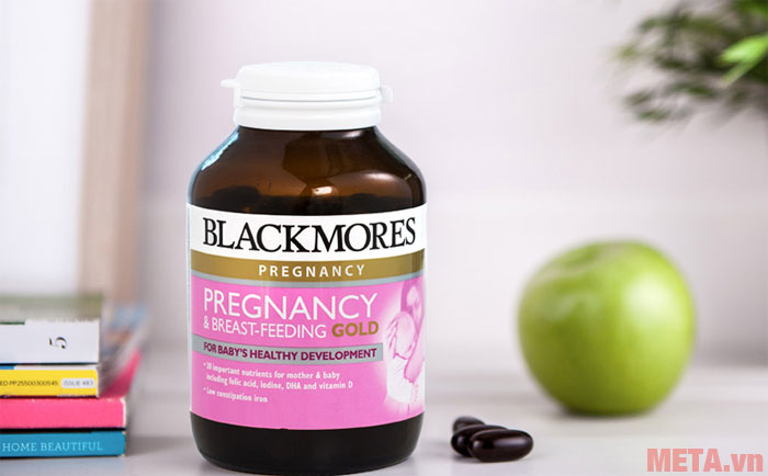 Hình ảnh Blackmores Pregnancy and Breast Feeding Gold
