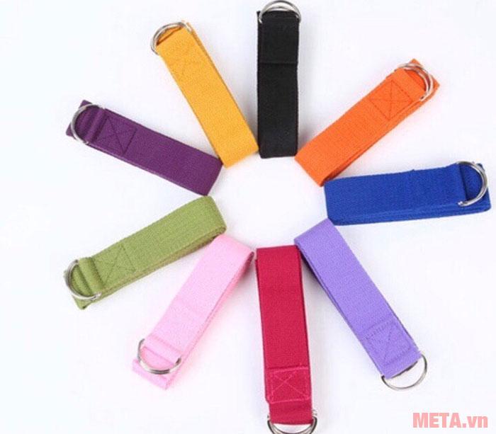 Dây Yoga có nhiều màu sắc cho bạn lựa chọn