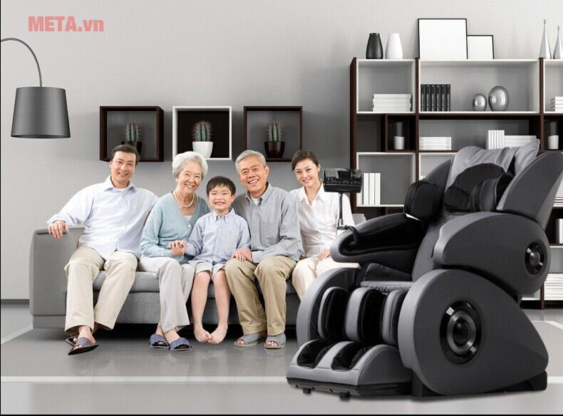 Ghế massage có dùng được cho người cao tuổi hay không?