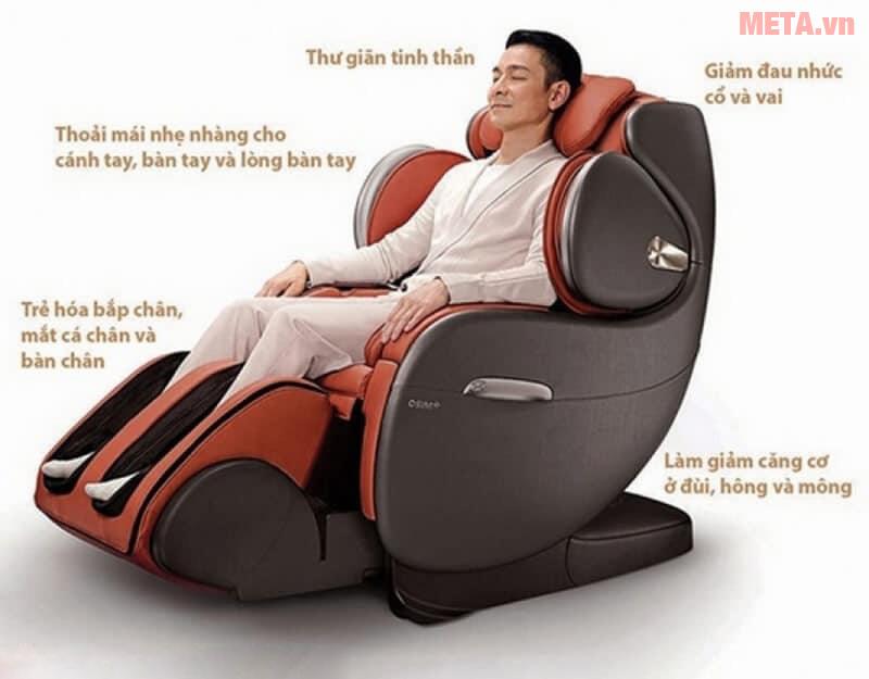Công dụng của ghế massage dành cho người già