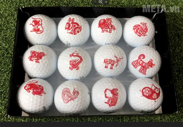 Hộp bóng golf Titleist Pro V1 gồm 12 quả