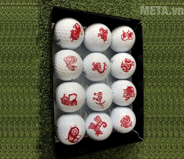 Hình ảnh thực tế bóng golf Titleist Pro V1